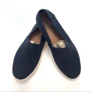 NWOT Toms Men's Avalon Linen Slip-On Shoes